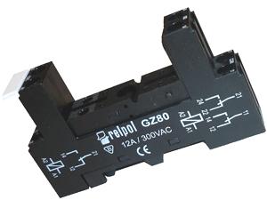 Gniazdo-przekaźnika GZ80