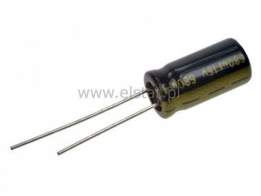 680uF 16V kond. ele. 105C 8x16mm, Jamicon LOW ESR