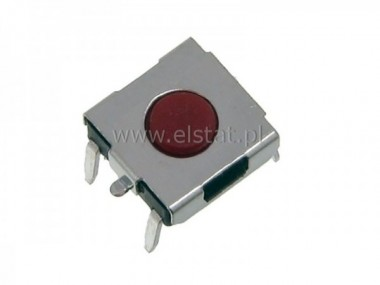 MicroSwitch  6,3x6mm  h=4,3mm  ( 2,3mm )  4 pin
